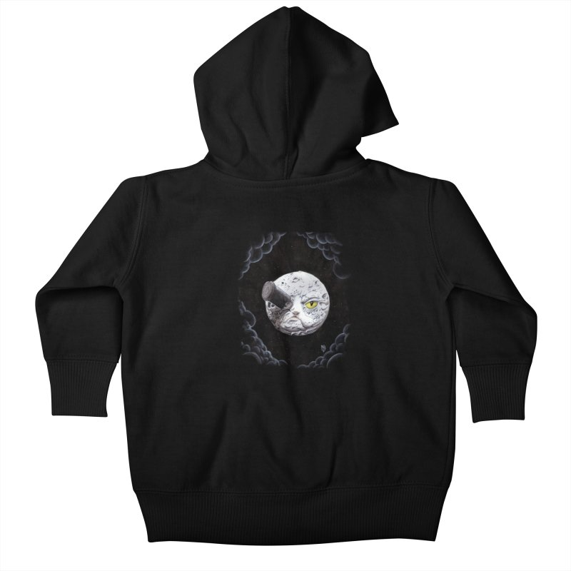 From earth to... no. Kids Baby Zip-Up Hoody by Franky Nieves Shop