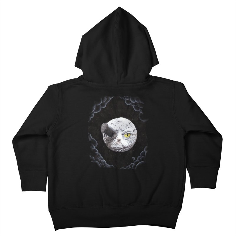 From earth to... no. Kids Toddler Zip-Up Hoody by Franky Nieves Shop