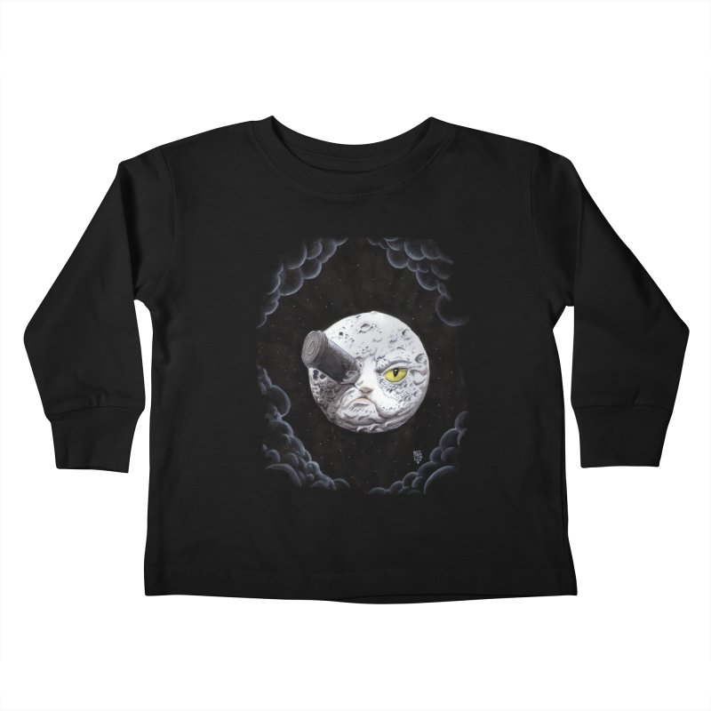 From earth to... no. Kids Toddler Longsleeve T-Shirt by Franky Nieves Shop