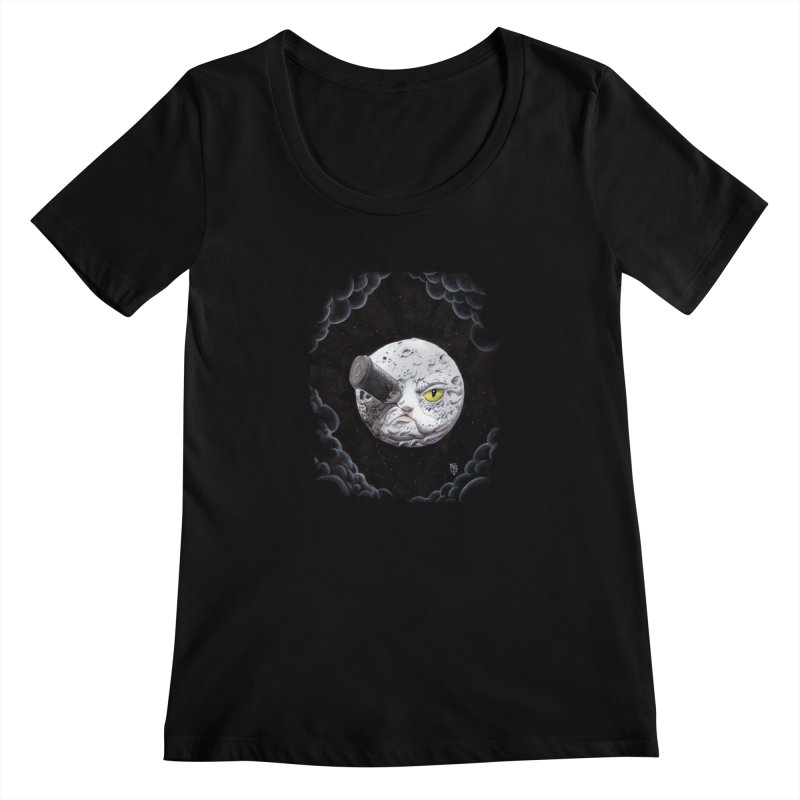 From earth to... no. Women's Scoopneck by Franky Nieves Shop