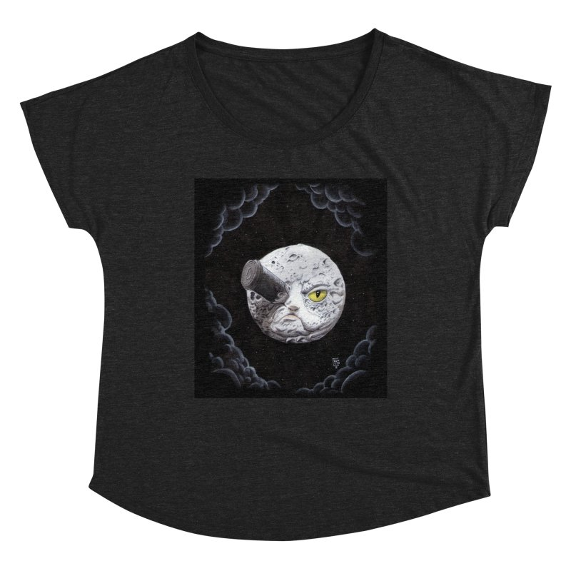 From earth to... no. Women's Scoop Neck by Franky Nieves Shop