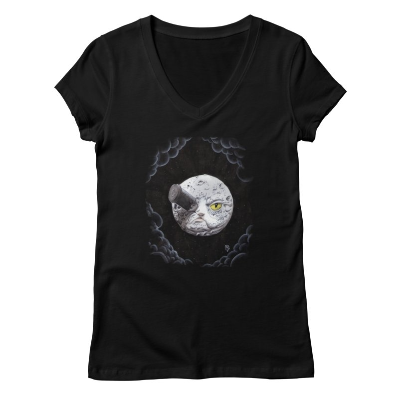 From earth to... no. Women's V-Neck by Franky Nieves Shop