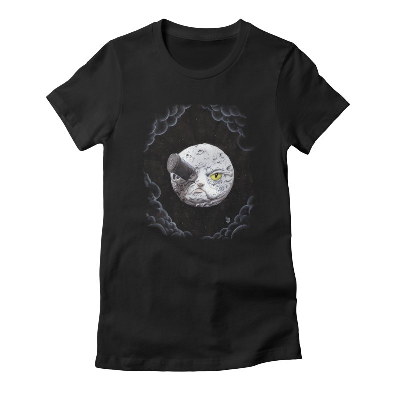 From earth to... no. Women's Fitted T-Shirt by Franky Nieves Shop