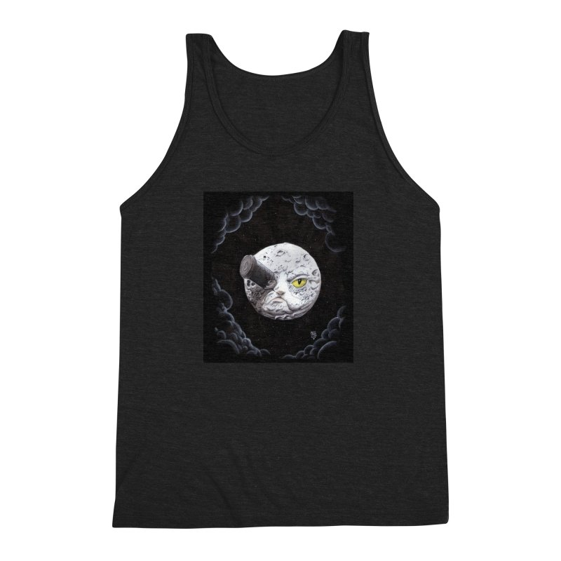 From earth to... no. Men's Triblend Tank by Franky Nieves Shop