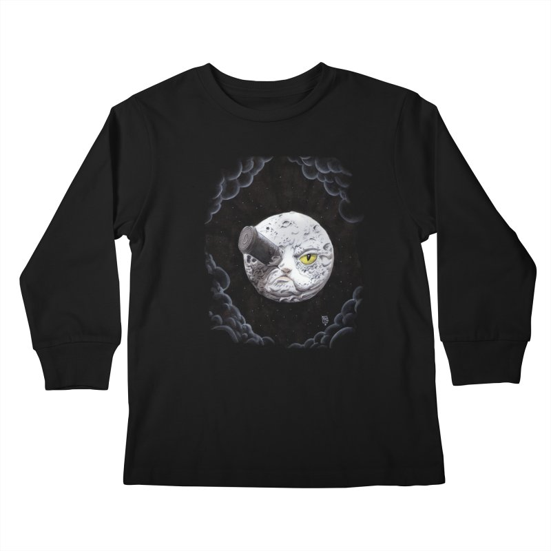 From earth to... no. Kids Longsleeve T-Shirt by Franky Nieves Shop