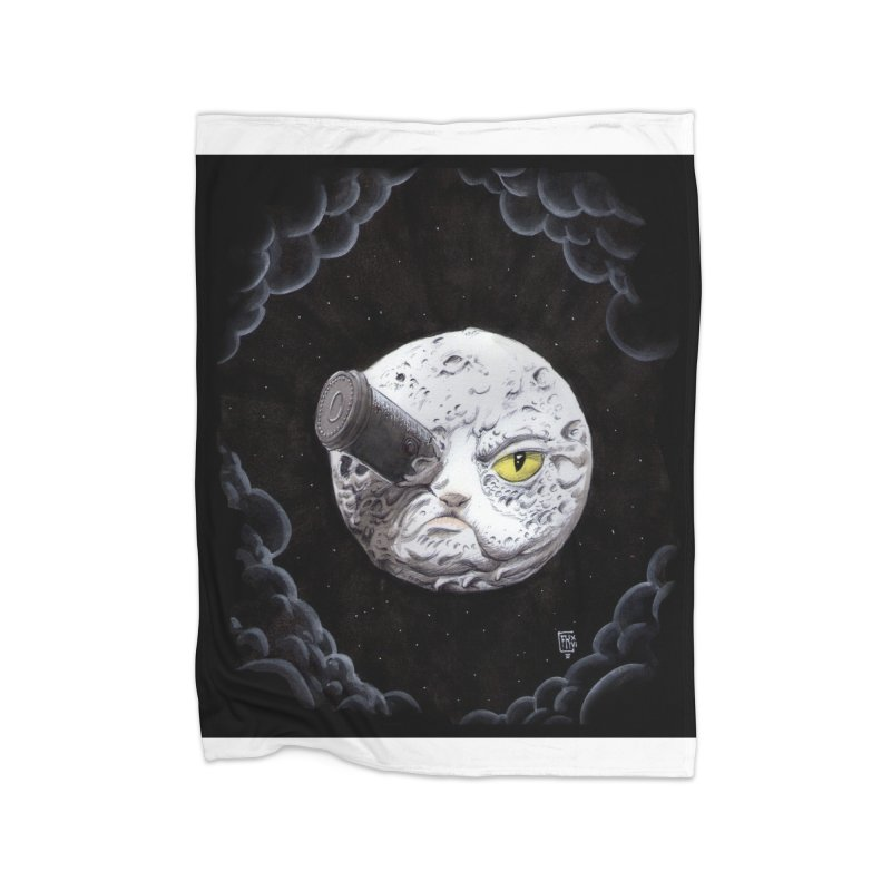 From earth to... no. Home Fleece Blanket Blanket by Franky Nieves Shop