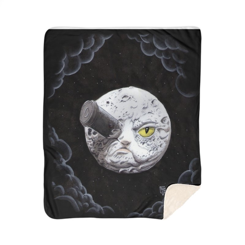 From earth to... no. Home Sherpa Blanket Blanket by Franky Nieves Shop