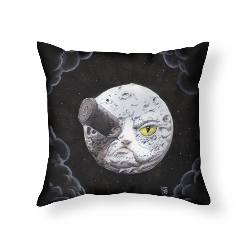 From earth to... no. Home Throw Pillow by Franky Nieves Shop