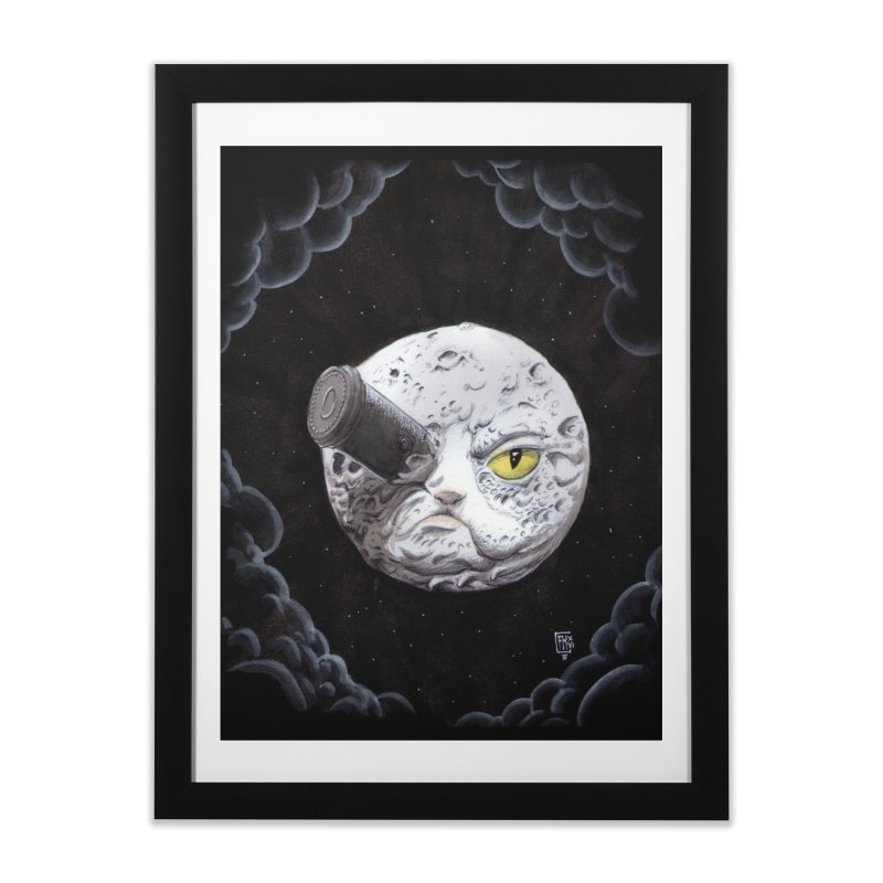 From earth to... no. Home Framed Fine Art Print by Franky Nieves Shop