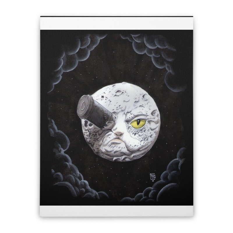 From earth to... no. Home Stretched Canvas by Franky Nieves Shop
