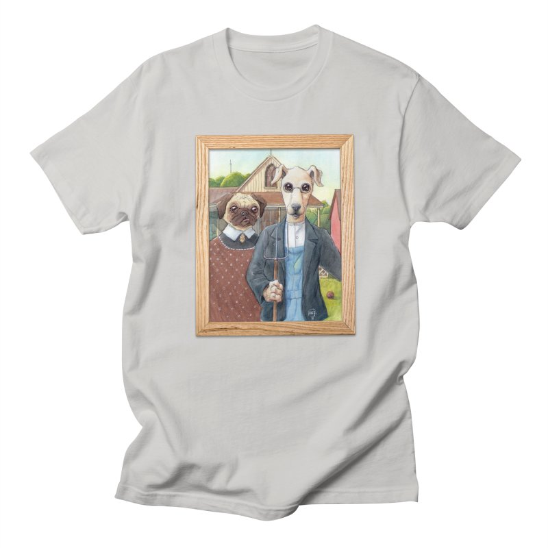 American Wofthic Men's T-Shirt by Franky Nieves Shop