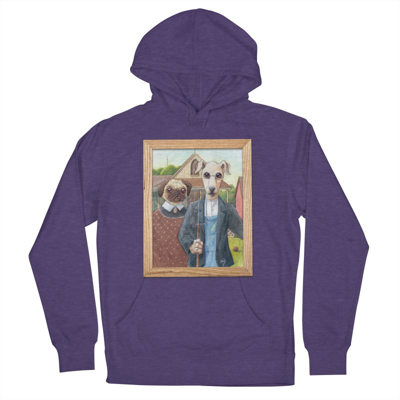 American Wofthic Women's French Terry Pullover Hoody by Franky Nieves Shop