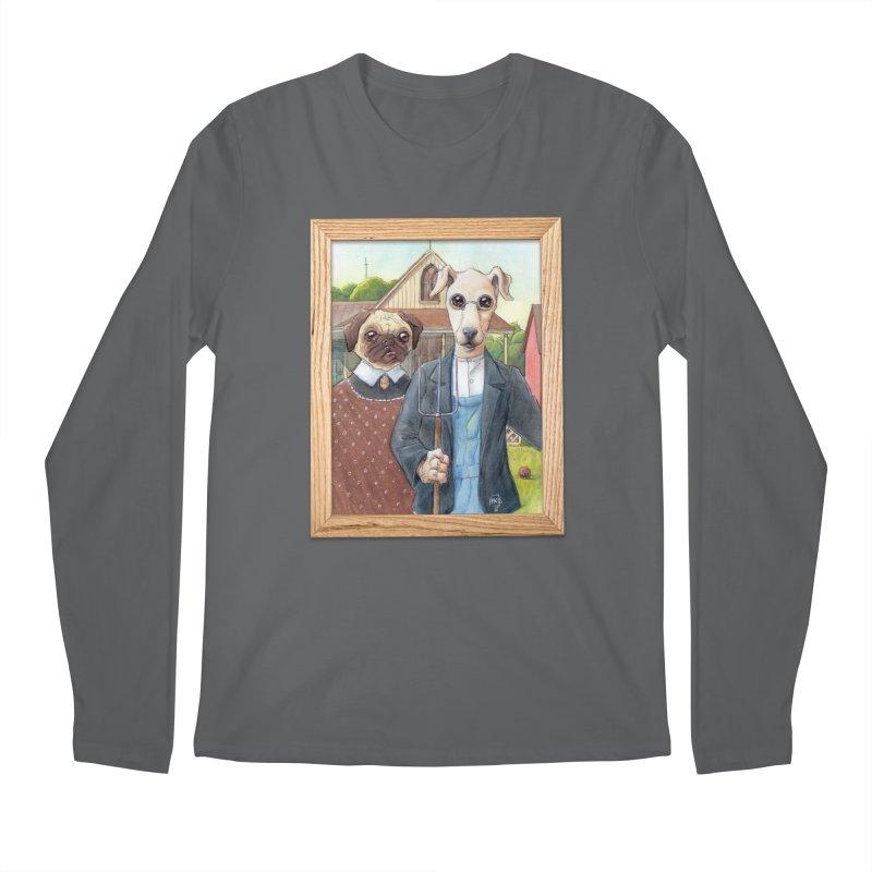 American Wofthic Men's Longsleeve T-Shirt by Franky Nieves Shop