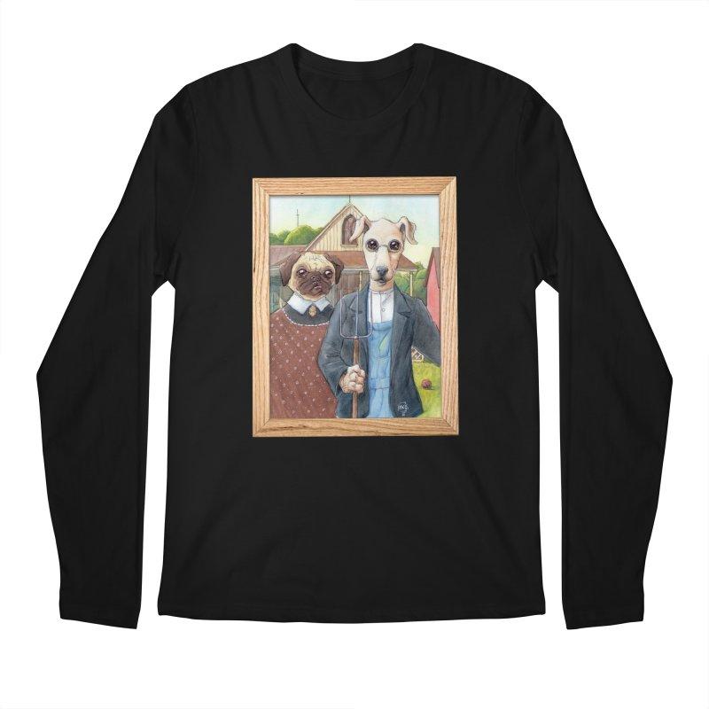American Wofthic Men's Regular Longsleeve T-Shirt by Franky Nieves Shop