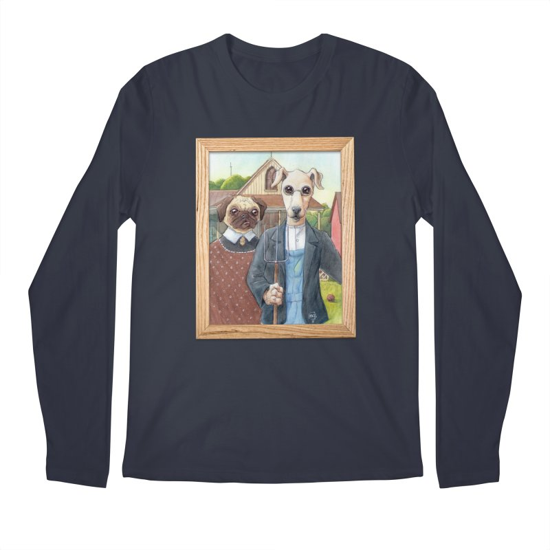 American Wofthic Men's Regular Longsleeve T-Shirt by Franky Nieves Shop