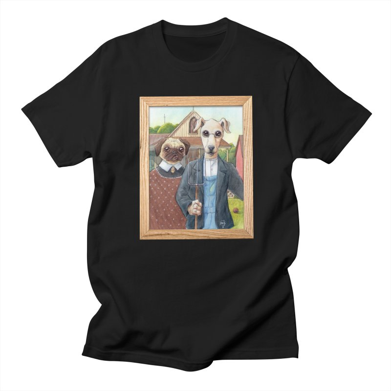 American Wofthic Women's Regular Unisex T-Shirt by Franky Nieves Shop