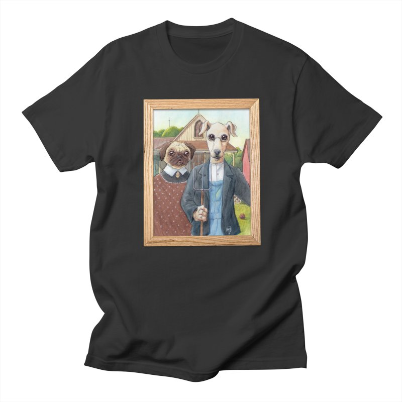 American Wofthic Men's Regular T-Shirt by Franky Nieves Shop