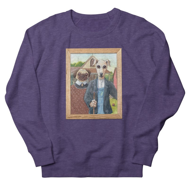 American Wofthic Men's French Terry Sweatshirt by Franky Nieves Shop