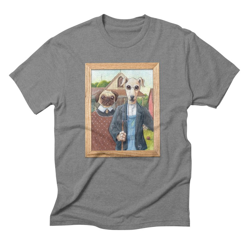 American Wofthic Men's Triblend T-Shirt by Franky Nieves Shop