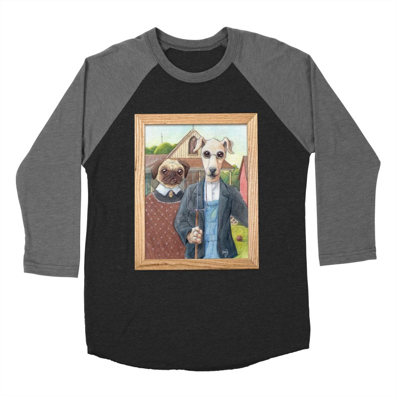 American Wofthic Women's Baseball Triblend T-Shirt by Franky Nieves Shop