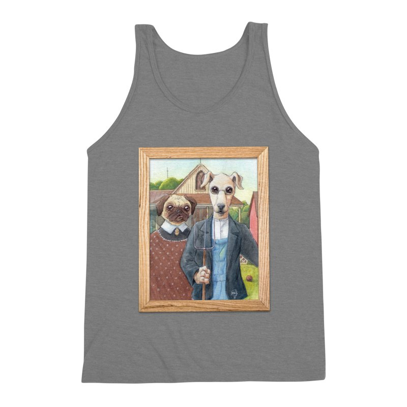 American Wofthic Men's Triblend Tank by Franky Nieves Shop