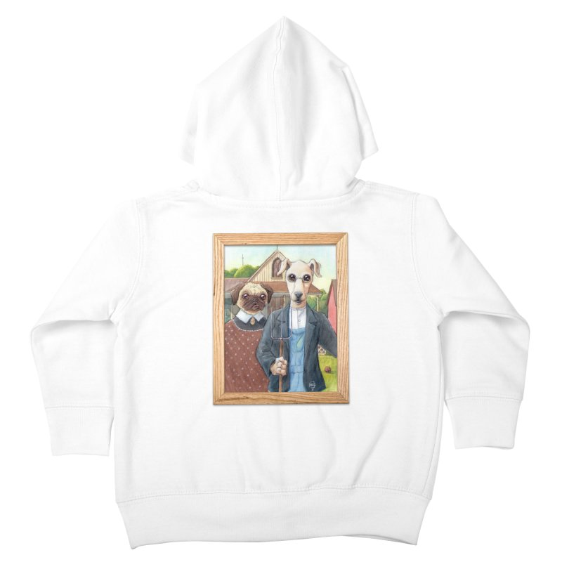 American Wofthic Kids Toddler Zip-Up Hoody by Franky Nieves Shop