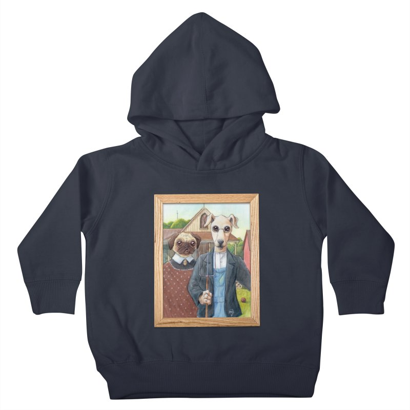 American Wofthic Kids Toddler Pullover Hoody by Franky Nieves Shop