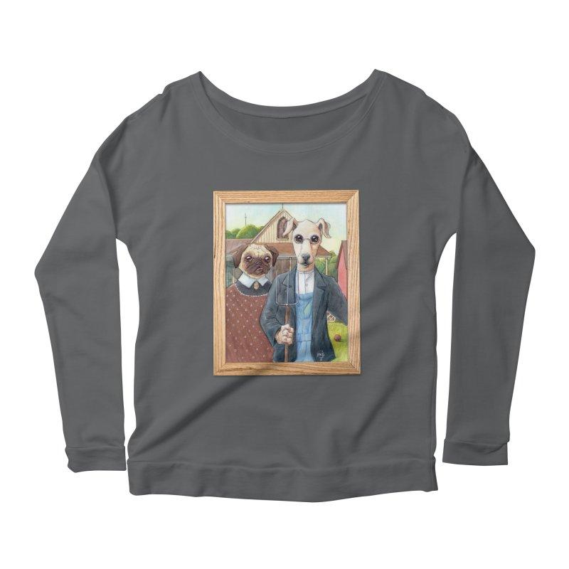 American Wofthic Women's Longsleeve T-Shirt by Franky Nieves Shop
