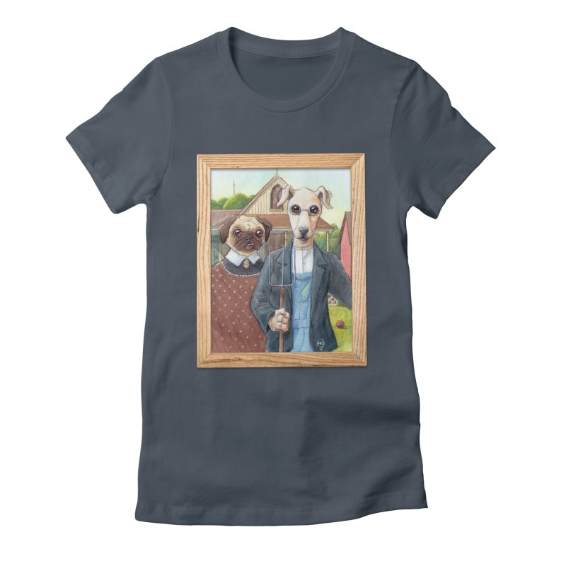 American Wofthic Women's T-Shirt by Franky Nieves Shop