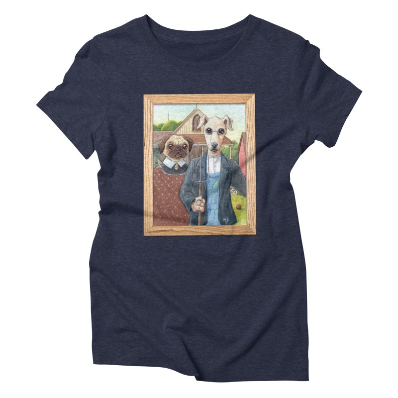 American Wofthic Women's Triblend T-Shirt by Franky Nieves Shop