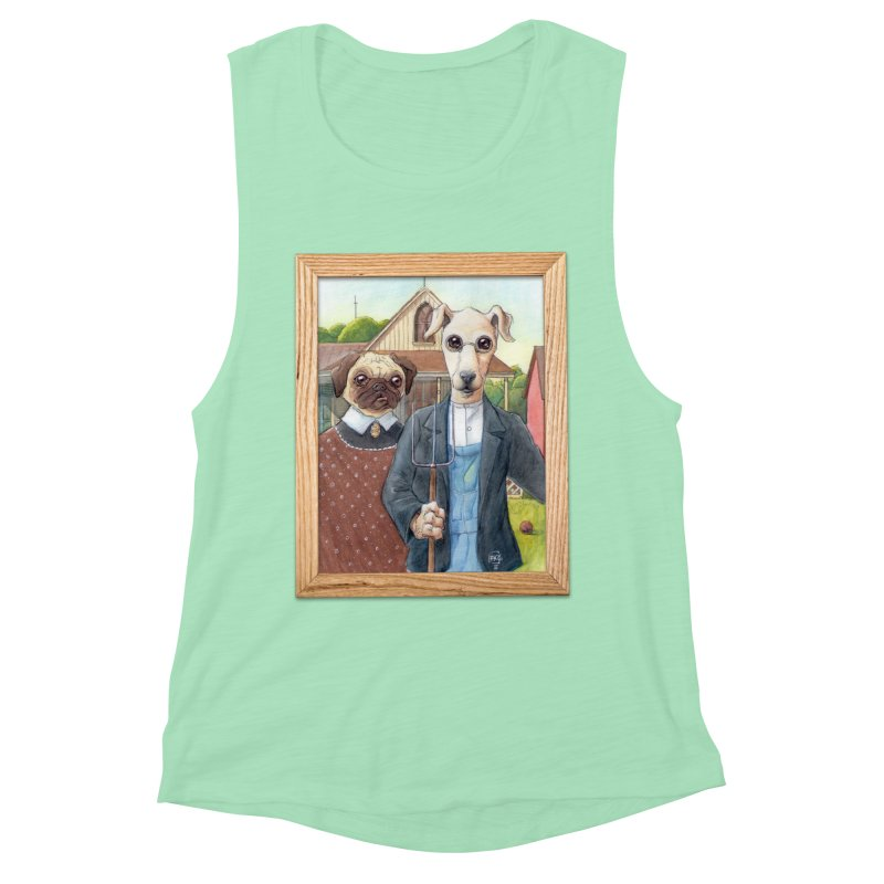 American Wofthic Women's Muscle Tank by Franky Nieves Shop