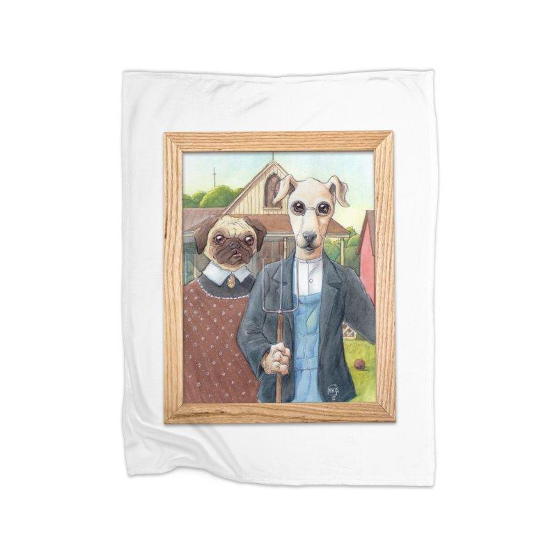 American Wofthic Home Fleece Blanket Blanket by Franky Nieves Shop