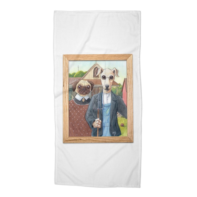 American Wofthic Accessories Beach Towel by Franky Nieves Shop