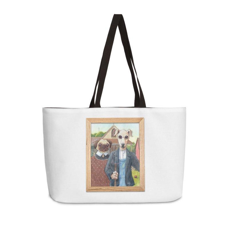 American Wofthic Accessories Weekender Bag Bag by Franky Nieves Shop