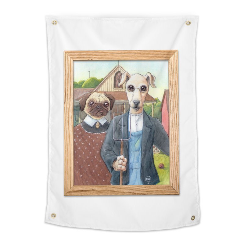 American Wofthic Home Tapestry by Franky Nieves Shop