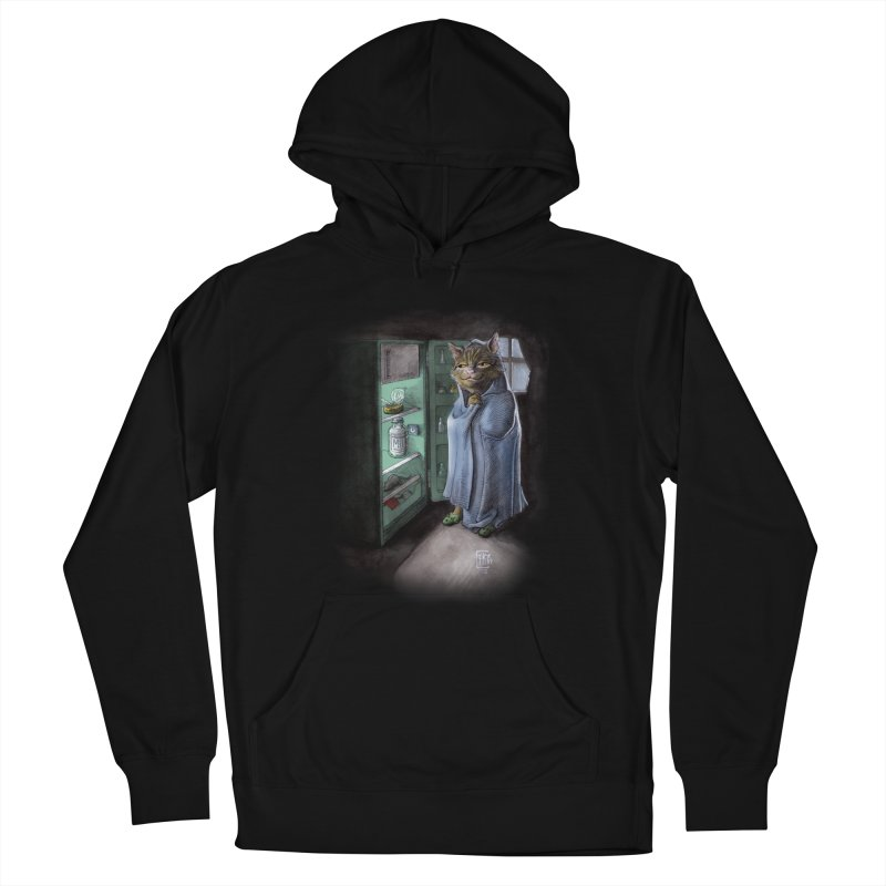 Midnight snack (color edition) Women's French Terry Pullover Hoody by Franky Nieves Shop