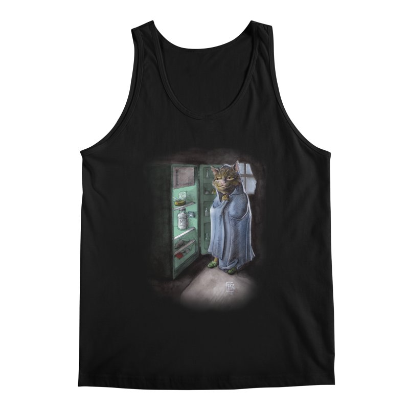 Midnight snack (color edition) Men's Tank by Franky Nieves Shop