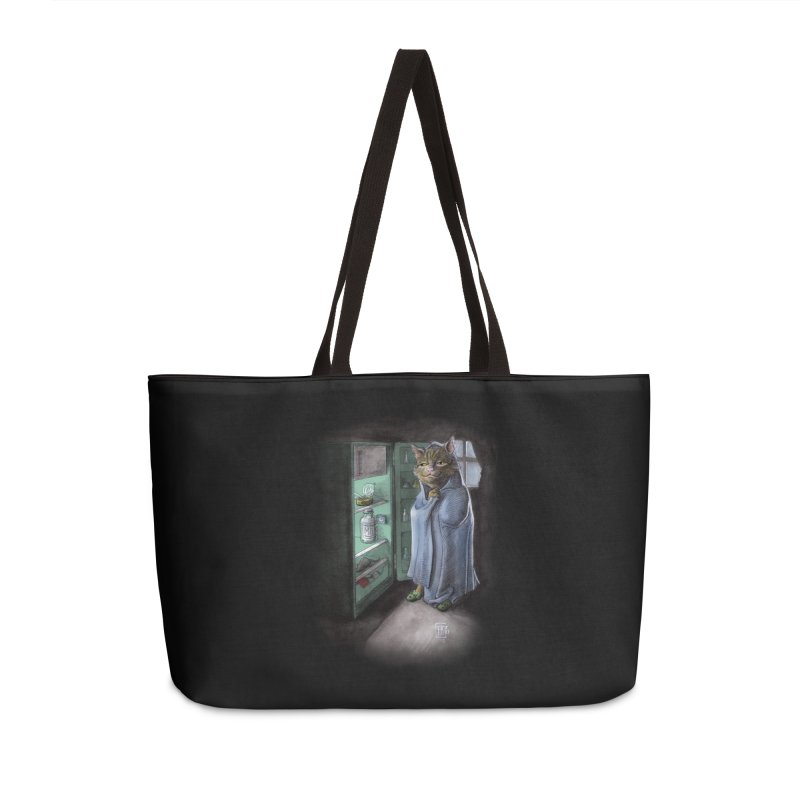 Midnight snack (color edition) Accessories Weekender Bag Bag by Franky Nieves Shop
