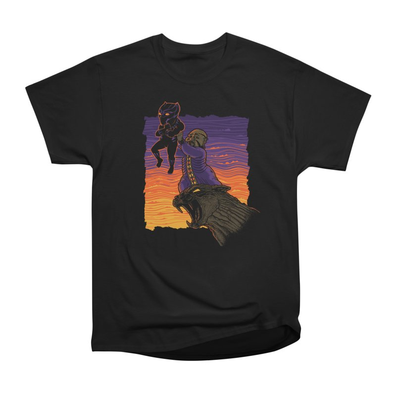 The Panther King Men's Heavyweight T-Shirt by Franky Nieves Shop