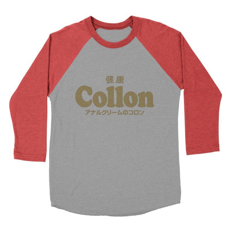 Gorudo Collon Women's Baseball Triblend T-Shirt by Le Franponais
