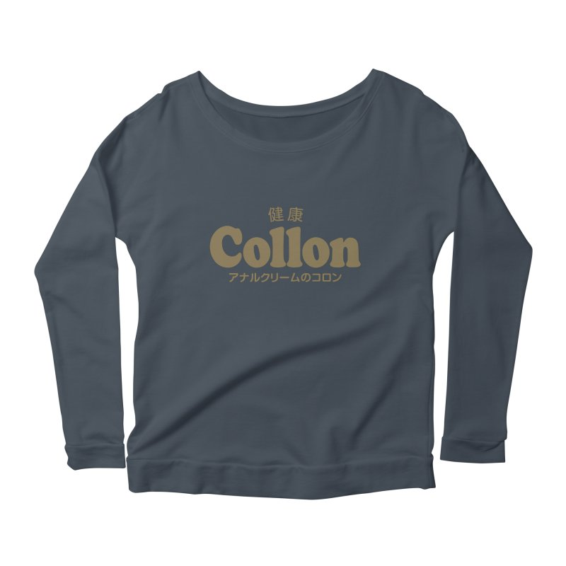 Gorudo Collon Women's Longsleeve Scoopneck  by Le Franponais