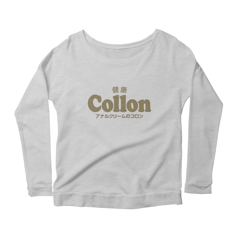 Gorudo Collon Women's Longsleeve Scoopneck  by Le Franponais