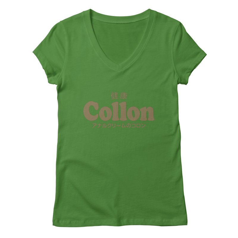 Gorudo Collon Women's V-Neck by Le Franponais