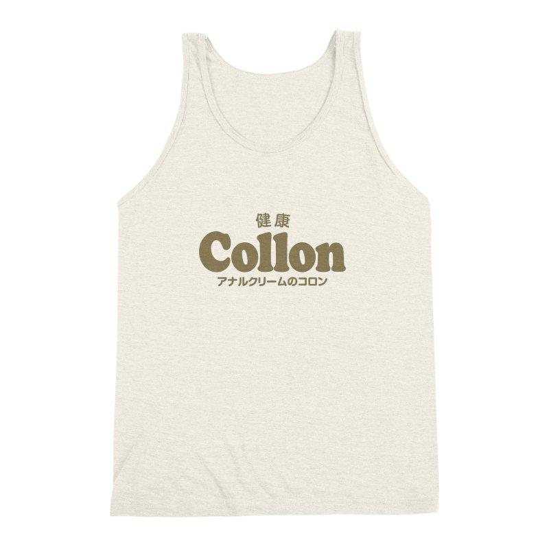 Gorudo Collon Men's Triblend Tank by Le Franponais