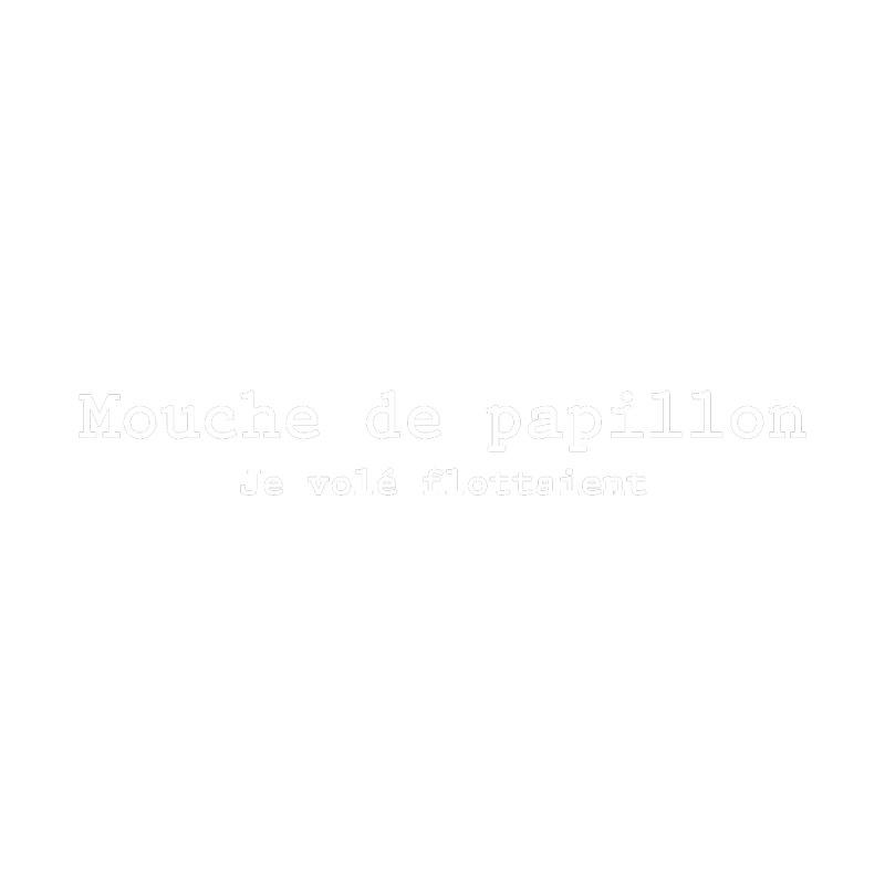 Mouche de Papillon blanc Women's Dolman by Le Franponais
