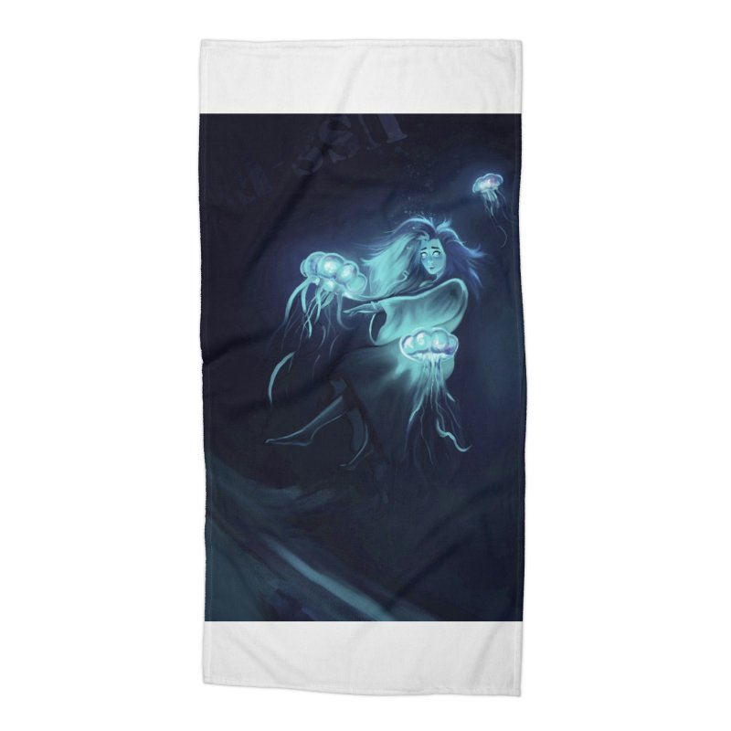 Jellyfish Party Accessories Beach Towel by @franzeboy Artist Shop