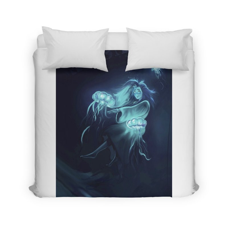 Jellyfish Party Home Duvet by @franzeboy Artist Shop
