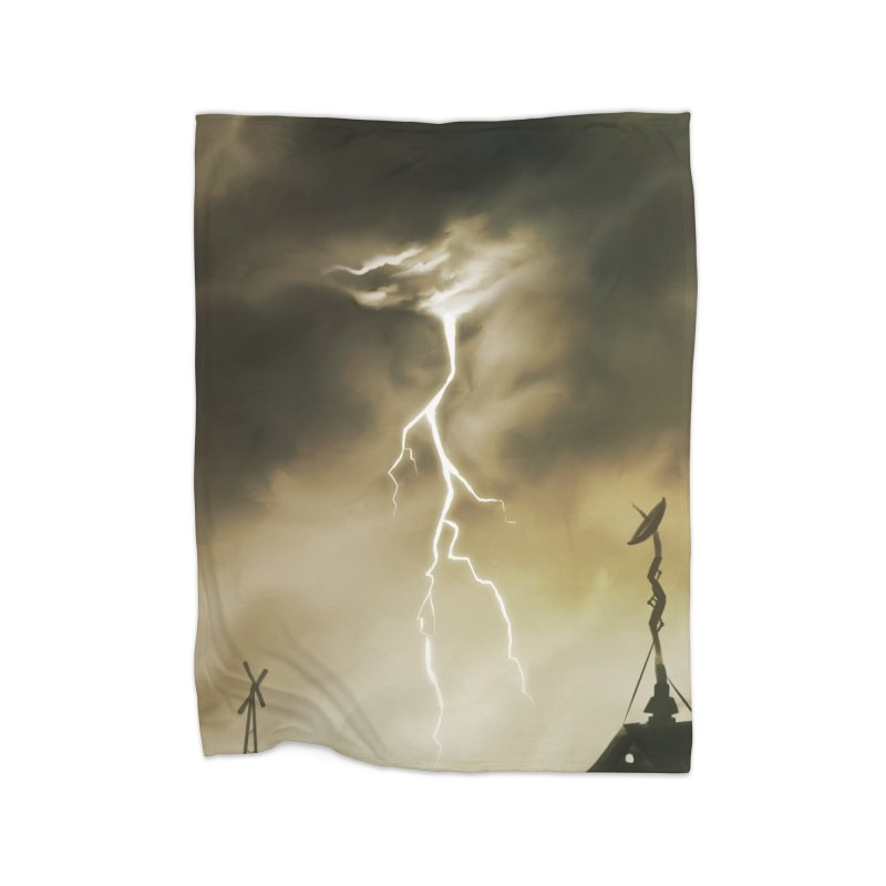 Lightning Weapon Home Blanket by @franzeboy Artist Shop