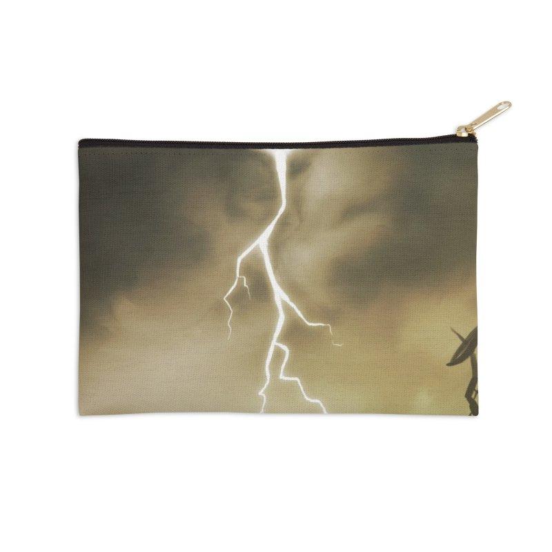 Lightning Weapon Accessories Zip Pouch by @franzeboy Artist Shop