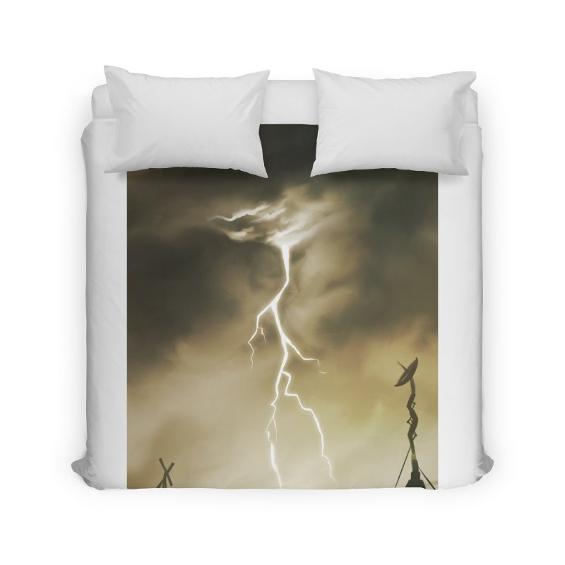 Lightning Weapon Home Duvet by @franzeboy Artist Shop